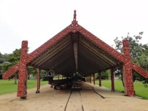 Paihia: Waitangi- Canoe shed